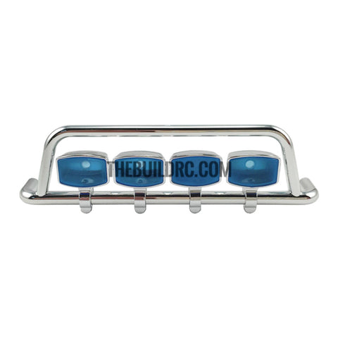 113mm x 30mm x 16mm Front Bar Light TAMIYA Scania Truck Compatible (Four Square Light Set)