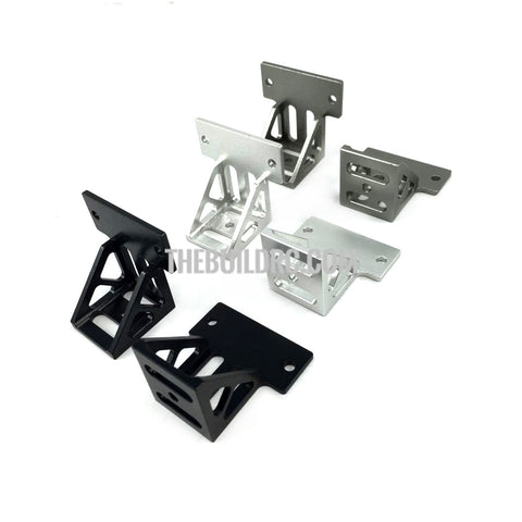 1/14 trailer simulation spare tire rack compatible with TAMIYA (2pcs) - Gun Metal