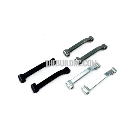 1/14 Semi-Trailer Metal Rod Aluminum Upgraded Parts compatible with TAMIYA (set of 2)  - Gun Metal