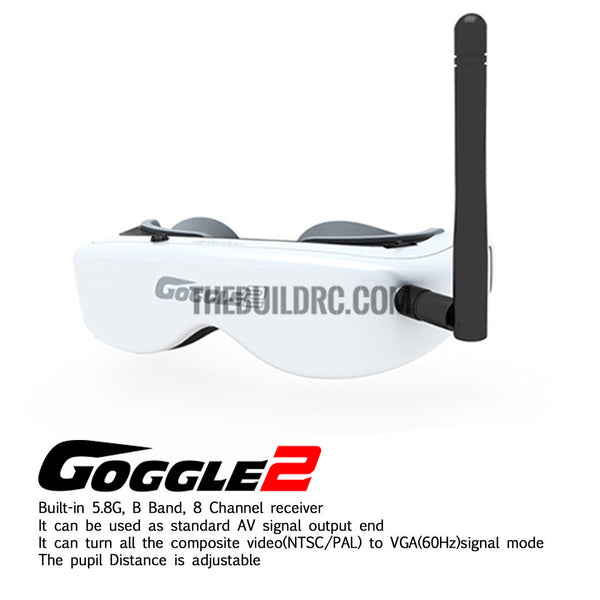 Walkera Googgle2 H500 head tracking 5.8G FPV glasses FPV video image transmission