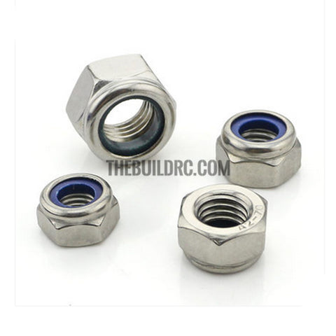 M3 Stainless Steel Nylon Lock Nut
