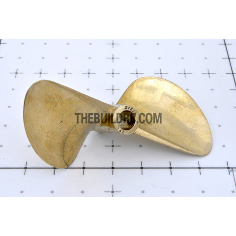 ??6.35 x ??70mm RC EP Boat Copper Slotted Propeller
