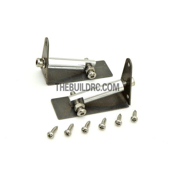 16mm*43mm Stainless Steel RC Boat Water Stabilizer Trim Tabs