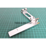 85*130mm CNC Aluminum RC Boat Helm Rudder (Single Water Entrance)