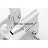 75*140mm Durable Aluminum Twin Helm Rudder with ??5mm Shaft Holder