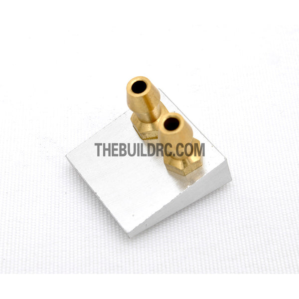 ??19mm*20mm RC Boat Aluminum Bottom Water Pick Up (Double Entrance)
