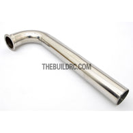RC Boat ??20mm x 60mm x 190mm Stainless Steel 105 Degree Pipe Tube Manifold