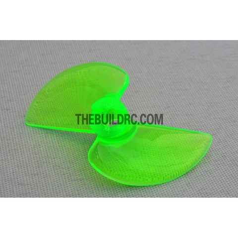 ??3.9 42 x 25 x 15mm RC Boat Plastic Slotted 2-Blade Propeller