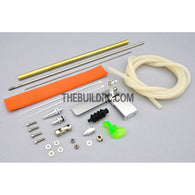 "22.5"" RC EP Fiberglass Deep-vee Arowana Mono 1 Racing Boat Hardware Kit (Rudder, Shaft, Propeller)"