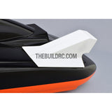150 x 70 x 65mm RC Racing Boat Epoxy Fiber Glass Engine Turbo Air Scoop