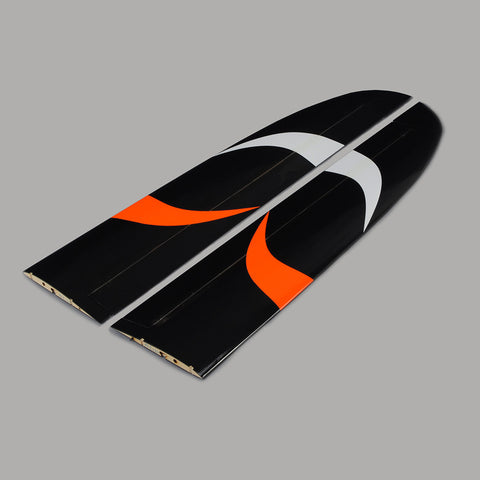 Main wing for the AG4XXXX SPECTRE II Soaring Thermal DLG - Orange / black