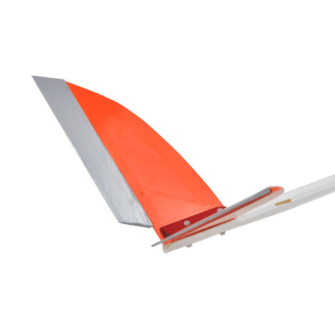 Tail wing for Passer - Orange / Silver