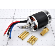 Turborix RC Plane / 500 Helicopter WY3650 1700kv (rpm/v) Outrunner BL Brushless Motor (13T Pinion Included)