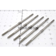 "??3.0 x L3.15""(83mm) Hexagon Steel Push Rod (5pcs/set)"