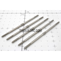 "??2.9 x L3.54""(88mm) Hexagon Steel Push Rod (5pcs/set)"