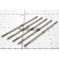 "??2.8 x L3.74""(94mm) Hexagon Stainless Steel Push Rod (5pcs/set)"