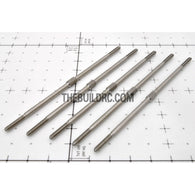 "??2.8 x L3.875""(100mm) Hexagon Stainless Steel Push Rod (5pcs/set)"