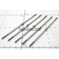 "??2.9 x L4.25""(108mm) Hexagon Stainless Steel Push Rod (5pcs/set)"