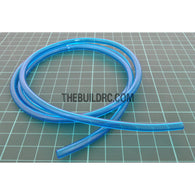 ??3x??5mm Semi Soft PVC Rubber RC Boat Water Inner Tube (1 Meter) - Blue
