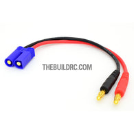 EC5 <-> 4mm Banana Plug 155mm 14 AWG 200?? Wire Battery Adaptor