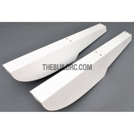 800mm 40 Class Fiberglass RC Plane Landing Float (2pcs)