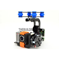 FPV Camera Mount Gimbal With 2208kv  Brushless Motors & Controller for Gopro3 Aerial (Upgradeable) - Fiberglass (~220g)