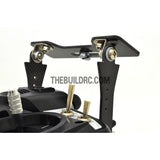 LED Screen Monitor Carbon Fiber Rear Mount For RC FPV Radio