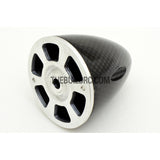 "2"" / 50.8mm Bullet Shape Carbon Fiber Spinner with Aluminium Backplate (Sharp)"