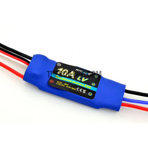 FlyColor 10A 2-3S BEC:5V/2A Brushless Motor Programmable ESC for RC Plane / Glider
