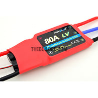 FlyColor 80A 2-6S SBEC:5.5V/4A Brushless Motor Programmable ESC for RC Plane / Glider / Helicopter