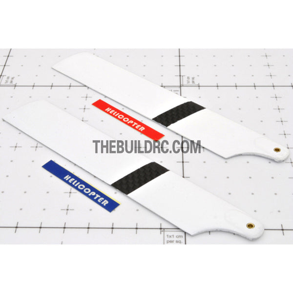 141mm RC Helicopter Performance Carbon Fiber Main Rotor Blade