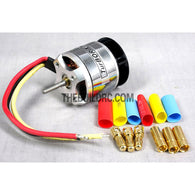 Turborix RC Plane / 450 Helicopter D2830 3500kv Outrunner Brushless Motor - 3.17mm
