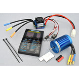 9T/35A ESC 1/10/1:12 RC Car Brushless System