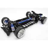 1/10 RC YKM Type C EP Shaft Drive Drift Car Chassis Kit - Blue
