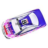 1/18 Lexus Analog Painted RC Car Body with Rear Spoiler (Purple/Blue)