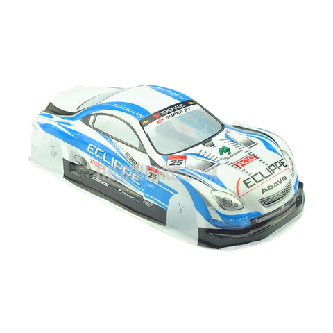 1/10 Lexus SC430 Analog Painted RC Car Body with Rear Spoiler