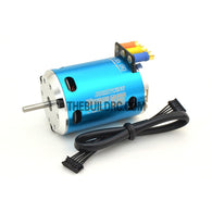 HobbyWing XERUN 10.5T 3650 3300KV Sensored Brushless Motor for 1/10 RC Competition Racing Car - Blue