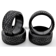 1/10 RC Car X-PATTERN RADIAL 26mm D-COMPOUND DRIFT Tires (4pcs)