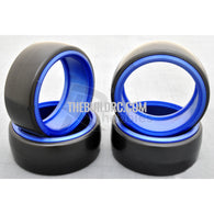 1/10 RC Car DRIFT Tires with insert Wheel (4pcs) - Dark Blue