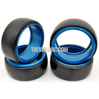 1/10 RC Car DRIFT Tires with insert Wheel (4pcs) - Blue