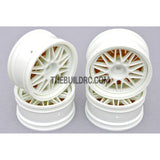 1/10 RC Car 26mm 20 Removeable Spoke 2mm Offset DRIFT Sporty Wheel 4pcs - White