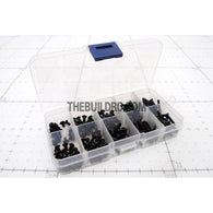 RC 2.0mm Hex Flat & Dome Head Screw Set with Plastic Container / Tool Box