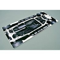1/10 RC TEH-R31 Drift Car Chassis Decals