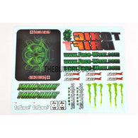 1/10 RC Car Toxic Drift GARAGE-D Self Adhesive Decals