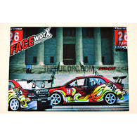 1/10 RC Car TIME ATTACK DSPORT 26 Sup AWD DRIFT Self Adhesive Body Decals