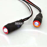 1/10 RC Car LED Angel Eyes Headlight Bulb 5mm