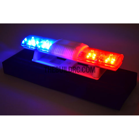 102 x 26mm police petrol 360 led light bar for 110 to 114 rc car led light bar for 110 to aloadofball Image collections