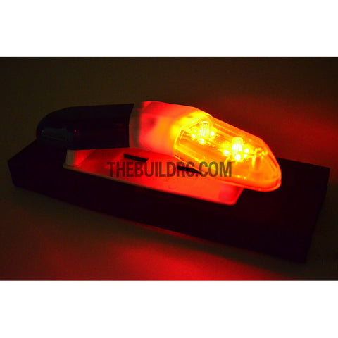 RC Police Petrol Car 103 x 40mm 360?? V-Shape LED Light Bar