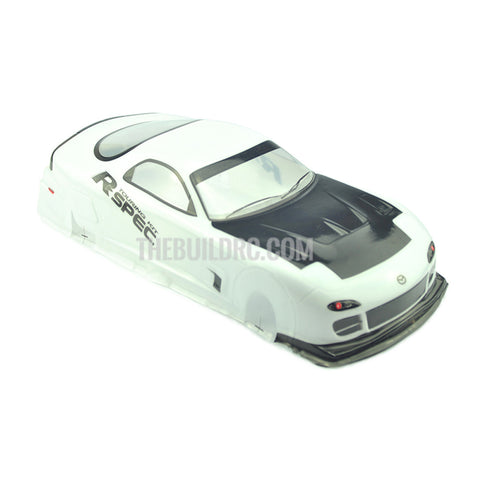 1/10 Mazda Analog Painted RC Car Body With Rear Spoiler