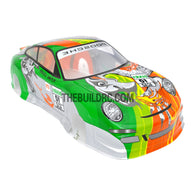 1/10 Porsche 911 Turbo Analog Painted RC Car Body